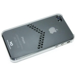 White Diamonds Arrow Chrome for iPhone 4, 4S (1110ARR2)