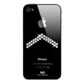 White Diamonds Arrow Crystal for iPhone 4, 4S (1110ARR5)