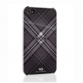 White Diamonds Grid Black for iPhone 4, 4S (1110GRI6)