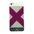 White Diamonds Space Pink for iPhone 4, 4S (1110SPA41)