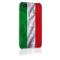 White Diamonds Flag Italy for iPhone 4, 4S (1110FLA04)