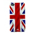 White Diamonds Flag UK for iPhone 4, 4S (1110FLA05)
