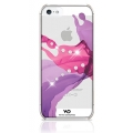 White Diamonds Liquids Pink for iPhone 5, 5S (1210LIQ41)