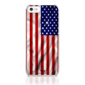 White Diamonds Flag USA for iPhone 5, 5S (1210FLA06)