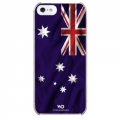 White Diamonds Flag Australia for iPhone 5, 5S (1210FLA09)