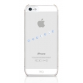 White Diamonds Sash Ice Blue for iPhone 5, 5S (1210SIC44)