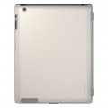 Xtrememac Microshield SC for iPad 4, iPad 3, iPad 2 - Cream Leather (PAD MC2L-03)