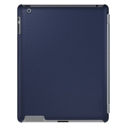 Xtrememac Microshield SC for iPad 4, iPad 3, iPad 2 - Navy Leather (PAD MC2L-23)