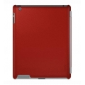 Xtrememac Microshield SC for iPad 4, iPad 3, iPad 2 - Red Leather (PAD MC2L-73)