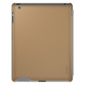 Xtrememac Microshield SC for iPad 4, iPad 3, iPad 2 - Tan Leather (PAD MC2L-63)