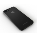 Xtrememac Microshield Fade for iPhone 5, 5S, Black & Gray (IPP-MFN-13)