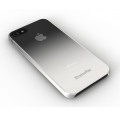 Xtrememac Microshield Fade for iPhone 5, 5S, Clear & Gray (IPP-MFN-03)