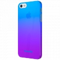 XtremeMac Microshield Fade for iPhone 5, 5S - Blue/Purple (XTM-IPP-MFN-23)