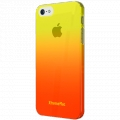 XtremeMac Microshield Fade Yellow/Pink for iPhone 5, 5S (XTM-IPP-MFN-93)