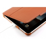 Yoobao Slim Magic Leather Case Brown for iPad