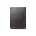 Zenus Synthetic Leather Neo Classic Diary for iPad Air - Dark Grey