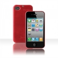 Zenus iPhone 4 E'stime Line Leather Case Bar Royal Red (IPHONE4GLBM05)