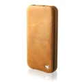 Zenus Estime Line Folder Type for iPhone 4, 4S (Camel)
