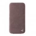 Zenus Estime Line Folder Type for iPhone 4, 4S (Jazz Grey)