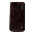 Zenus Masstige Color Point Folder Series for iPhone 4, 4S (Black Chocolate)