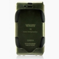 Zenus iPhone 4, 4S Leather Case 'Prestige' Italian Jacket Series - Green