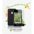 Zenus iPhone 4, 4S Screen Protector Herb Garden Series with Lemon Aroma