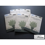 Zenus iPhone 4, 4S Screen Protector Herb Garden Series with Peppermint Aroma