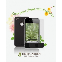 Zenus iPhone 4, 4S Screen Protector Herb Garden Series with Rosemary Aroma