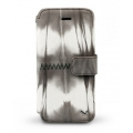 Zenus Prestige Tie-Dyeing Diary Case for iPhone 5 (Brown Mix)