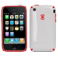 CandyShell Cranberry White for iPhone 3G/3GS (IPH3G-CNDY-WHT)