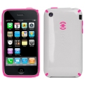 CandyShell White/Pink for iPhone 3G/3GS (IPH3G-CNDY-WHP)