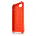 ITSkins Atom Matt Carbon for iPhone 5, 5S - Orange (APH5-ATMCA-ORAN)