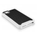 ITSkins Atom Matt Carbon for iPhone 5, 5S - White (APH5-ATMCA-WITE)