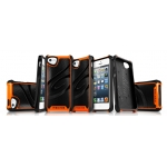 ITSkins Fusion Alu Core for iPhone 5, 5S - Orange (APH5-FUSAL-ORAN)