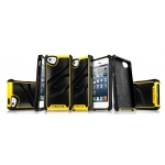 ITSkins Fusion Alu Core for iPhone 5, 5S - Yellow (APH5-FUSAL-YELW)