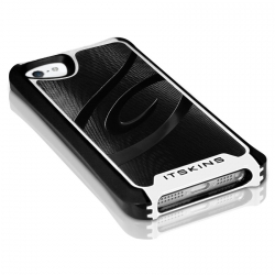 ITSkins Fusion Alu Core for iPhone 5, 5S - Black/White (APH5-FUSAL-BKWH)
