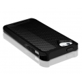 ITSkins Fusion Carbon Core for iPhone 5, 5S - Black (APH5-FUSCA-BLCK)