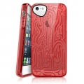 iTSkins Ink for iPhone 5, 5S (Red)