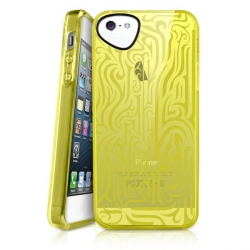iTSkins Ink for iPhone 5, 5S (Yellow)