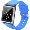 iWatchz Q Collection Watch Bank for iPod Nano 6 Gen. - Blue