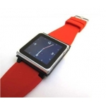 iWatchz Q Collection Watch Bank for iPod Nano 6 Gen. - Red